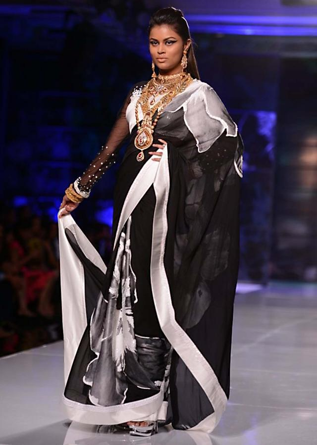 Satya Paul and Masaba Demi Couture collection at the PCJ Delhi Couture Week 2013 S43