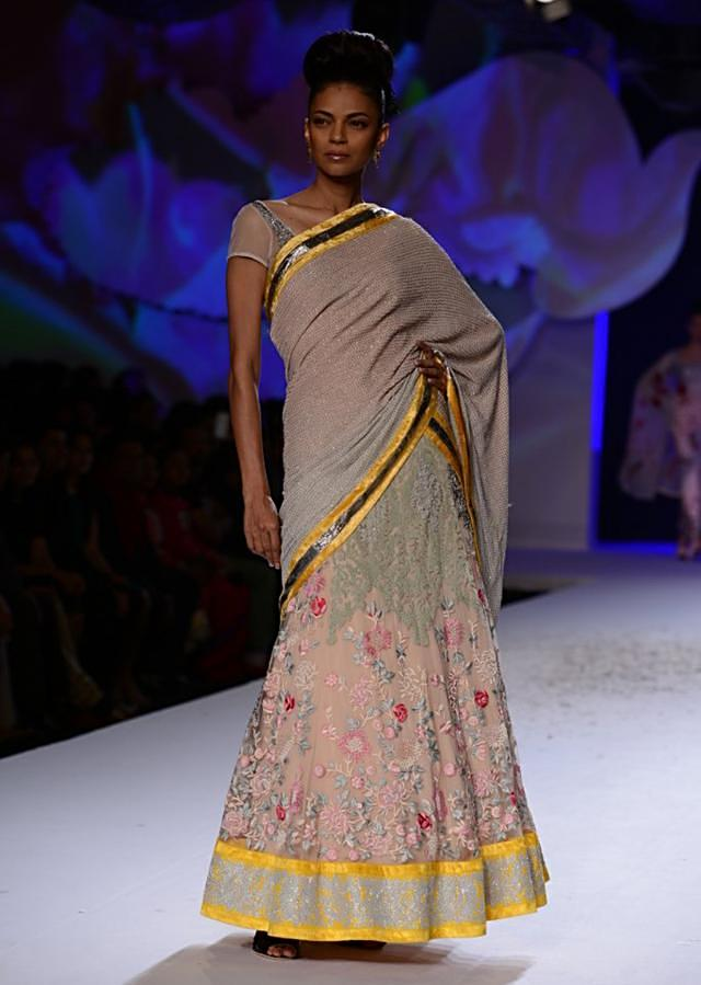 Varun Bahl ethnic collection at PCJ Delhi Couture Week 2013 VB34