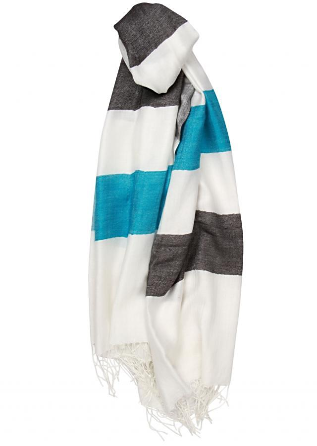 Winter shawl featuring in multi coloured viscose only on Kalki