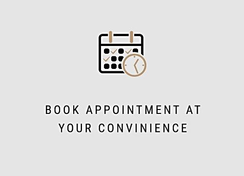 book appointment at your convinience