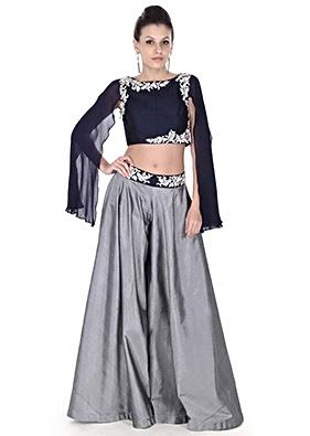 Crop Top and Skirt Lehengas