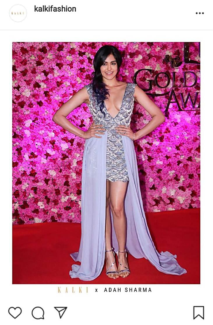 Adah Sharma wears Kalkifashion