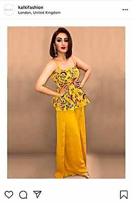 Akriti Kakar wears Kalkifashion